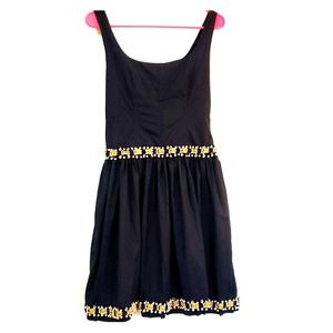 Moschino Measuring Tape & Pearls Dress Size 8
